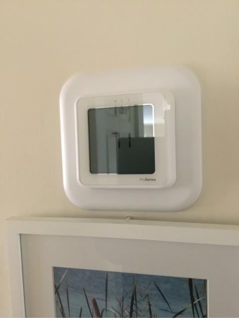 Old Saybrook, CT - Installed a new Honeywell T6 Pro Thermostat