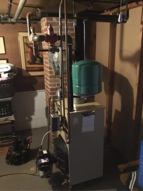 Bridgeport, CT - Performed oil maintenance on Weil McLain boiler.