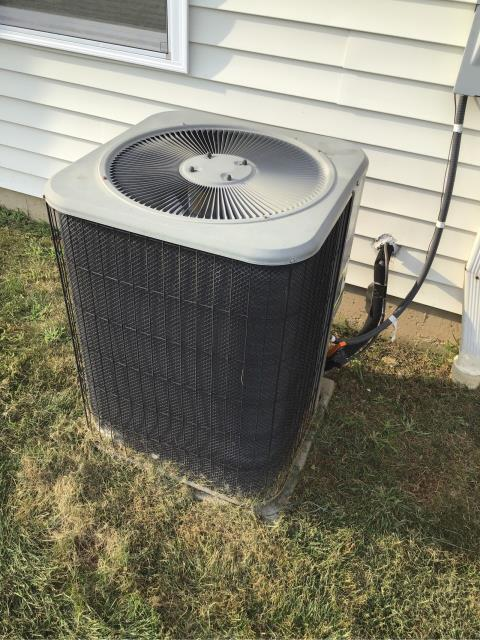 Shelton, CT - Performed ac maintenance for this customer that is a new homeowner.