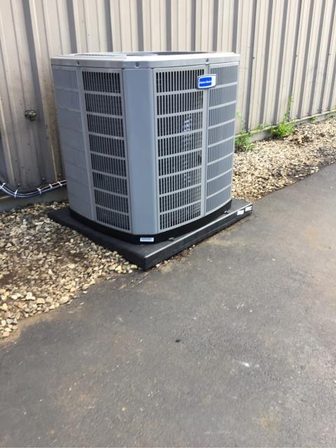 Hamden, CT - Installed an American Standard 5 Ton 13 SEER Air Conditioning System.