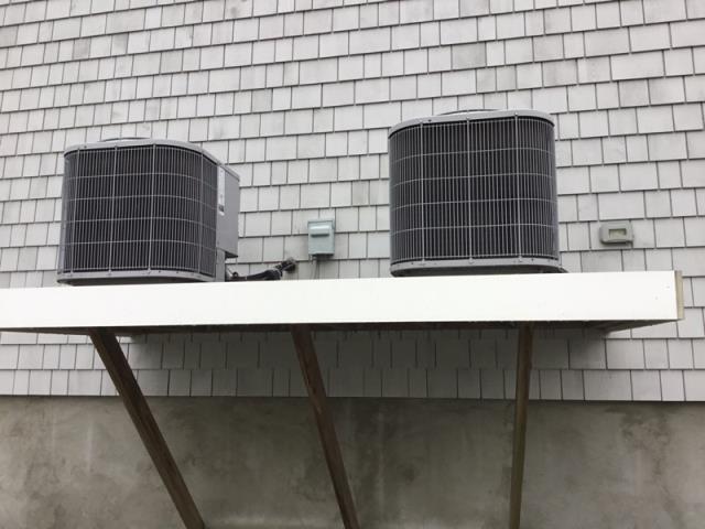 Fairfield, CT - Performed seasonal maintenance on 2 ac condensing units.