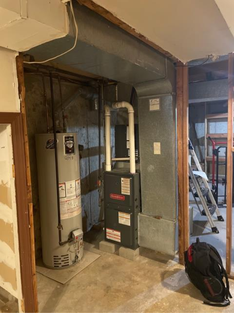Bridgeport, CT - Customer is new to this house and wanted gas heat maintenance done.