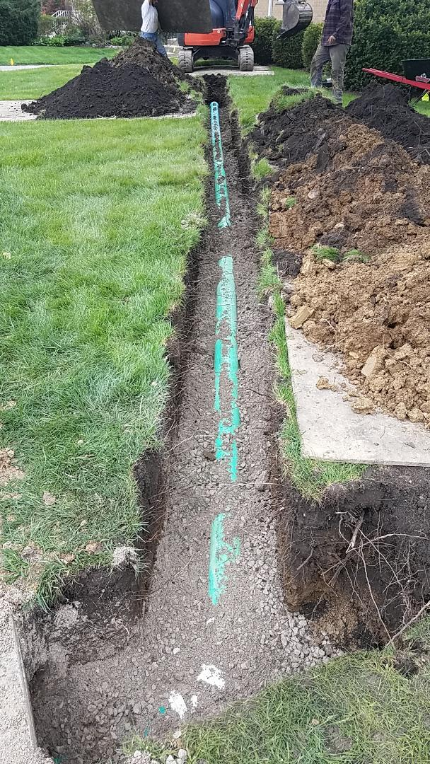 Storm sewer installation