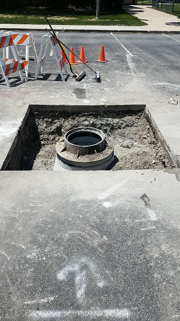 Catch basin replacement