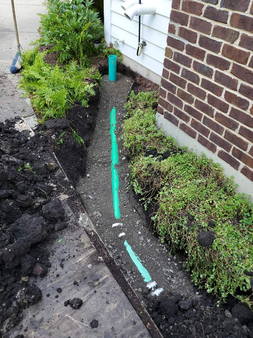 Sump pump connection to city storm sewer