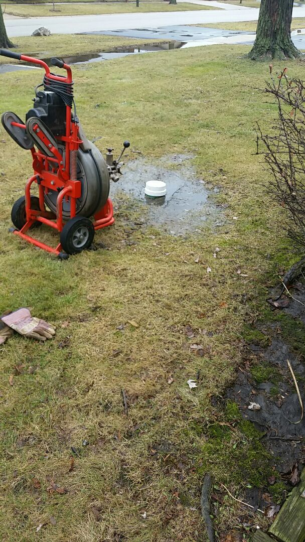Rodding sewer