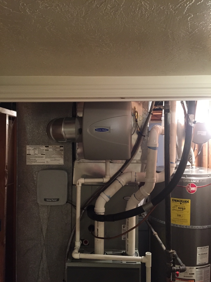 Grantsville, UT - Furnace, coil,  humidifier and heat pump.   Total system upgrade