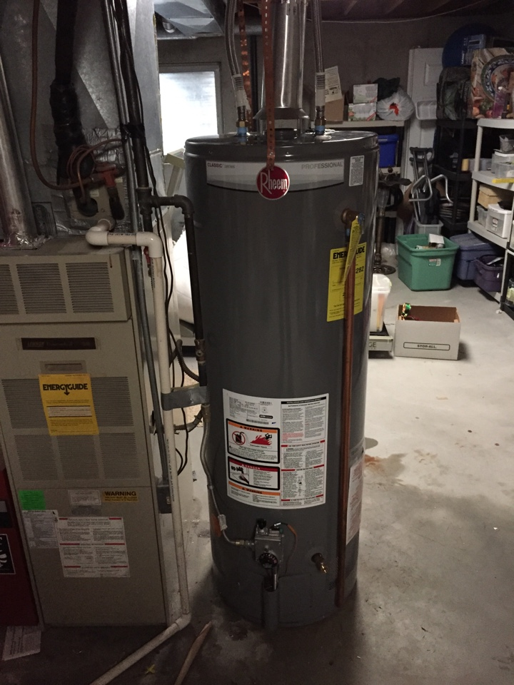 Midvale, UT - Water heater replacement