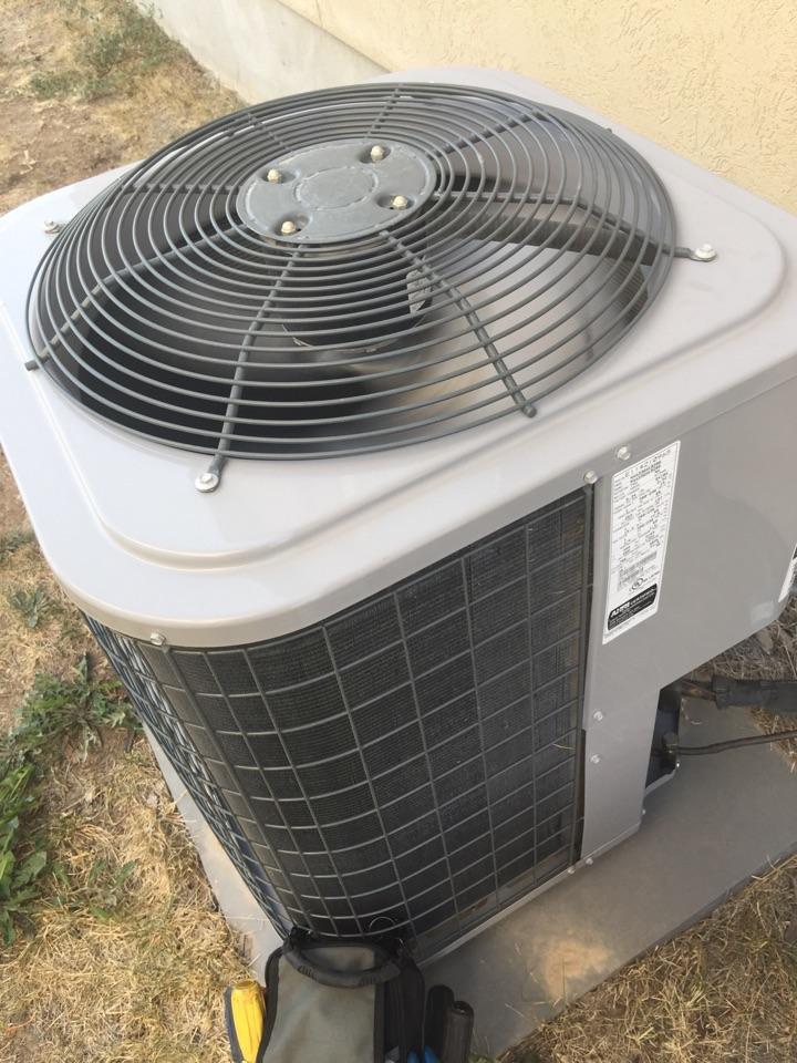 Herriman, UT - Repairing leak in tempstar air conditioner