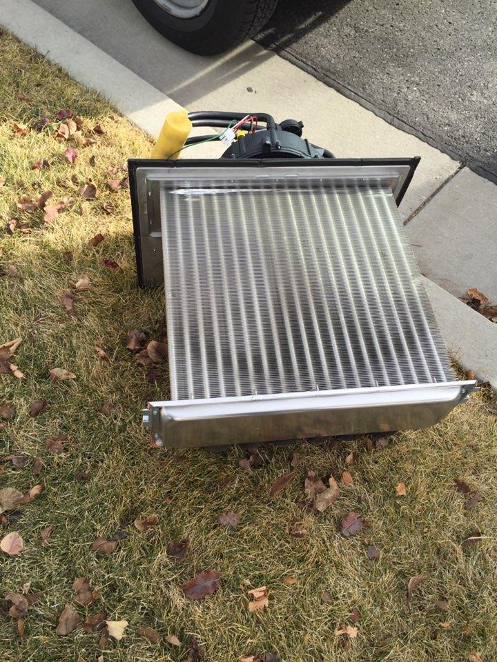 South Jordan, UT - 95% heat exchanger, replacement, American standard furnace.