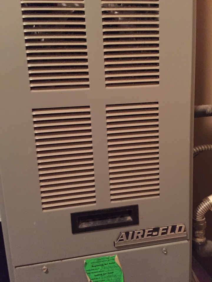 Salt Lake City, UT - Air flo Furnace 80% efficiency, dirty flame rectifier, ungrounded furnace