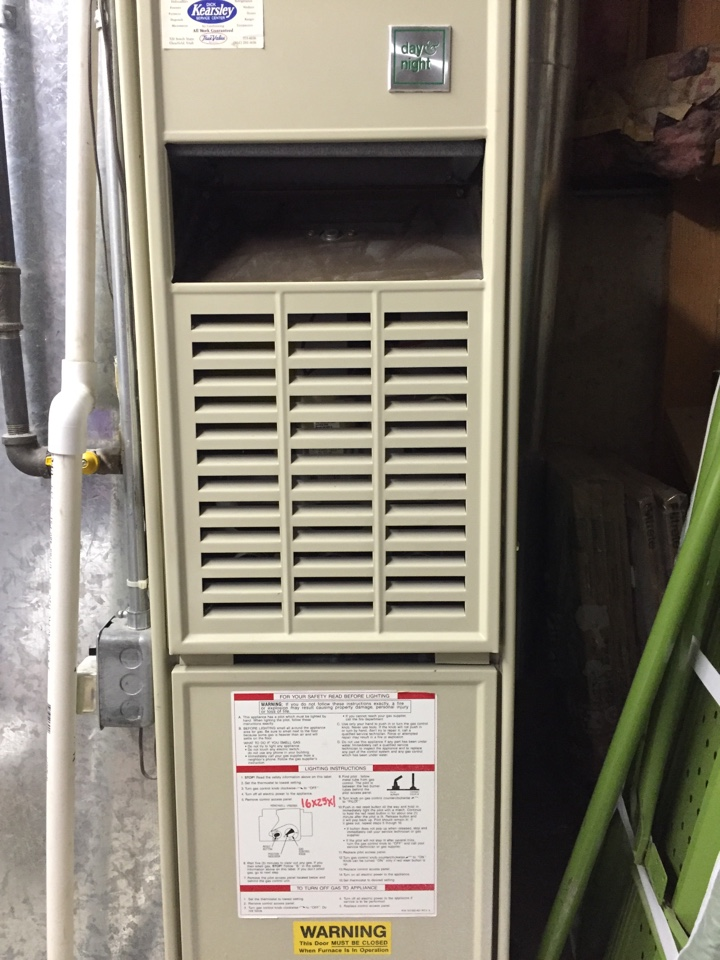 Syracuse, UT - Performing an air conditioner tune up for the cooling season on a day and night unit.