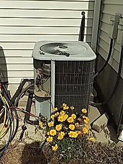 Sandy, UT - Replacing old a/c unite with a new American standard 3.0t AC r410 unite