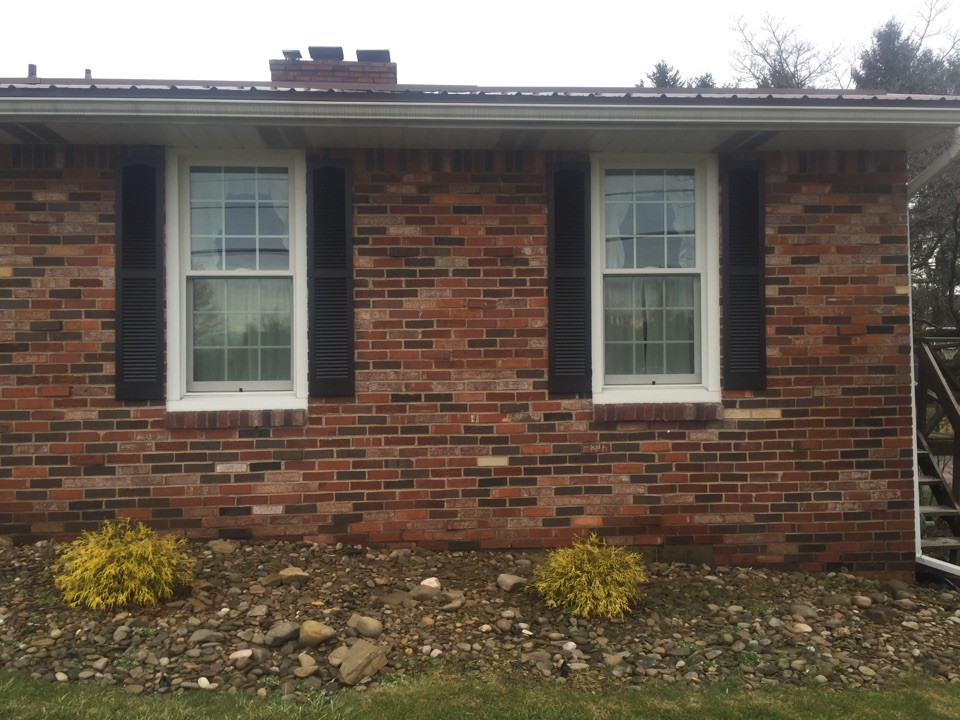 Greensburg, PA - Renewal by Andersen repeat customers. 2013 purchased double hung insert replacement windows. And in 2016 have decided to replace both front and side doors.