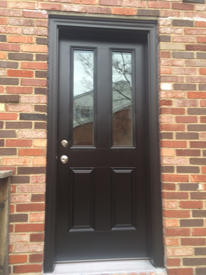 Greensburg, PA - Beautiful new Renewal by Andersen exterior door. Installed and ready to be enjoyed in no time at all. Looks great Scott !