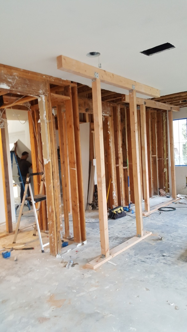 Carlsbad, CA - Home Remodeling Center is in the middle of a whole house, major remodel.