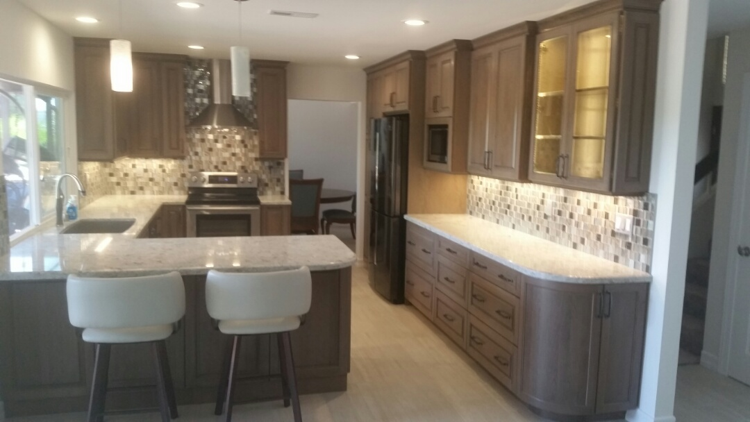 Carlsbad, CA - Another beautiful kitchen remodel completed