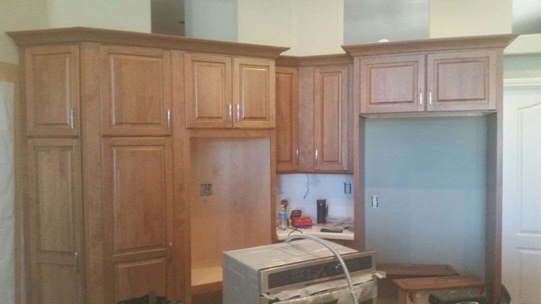 Escondido, CA - Home Remodeling Center in process of another custom Kitchen Remodel.
