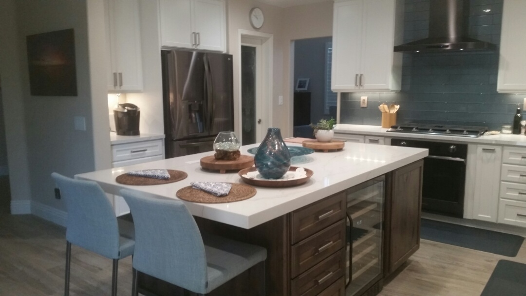 Carlsbad, CA - Another beautiful kitchen remodel completed by The Home Remodeling Center