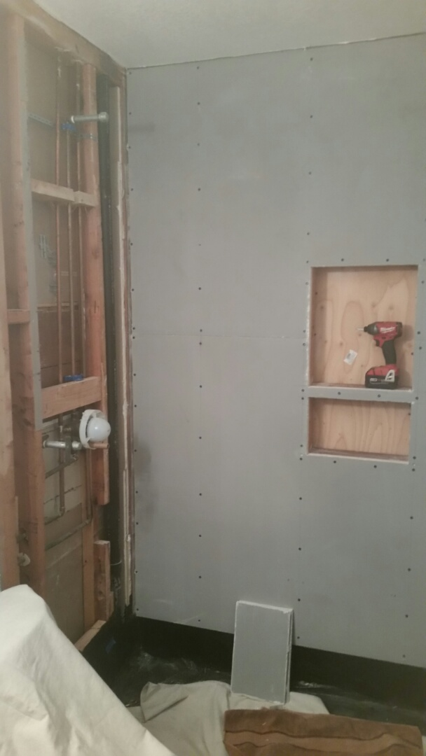 San Diego, CA - Home Remodeling Center, on the way to making another beautiful bathroom.