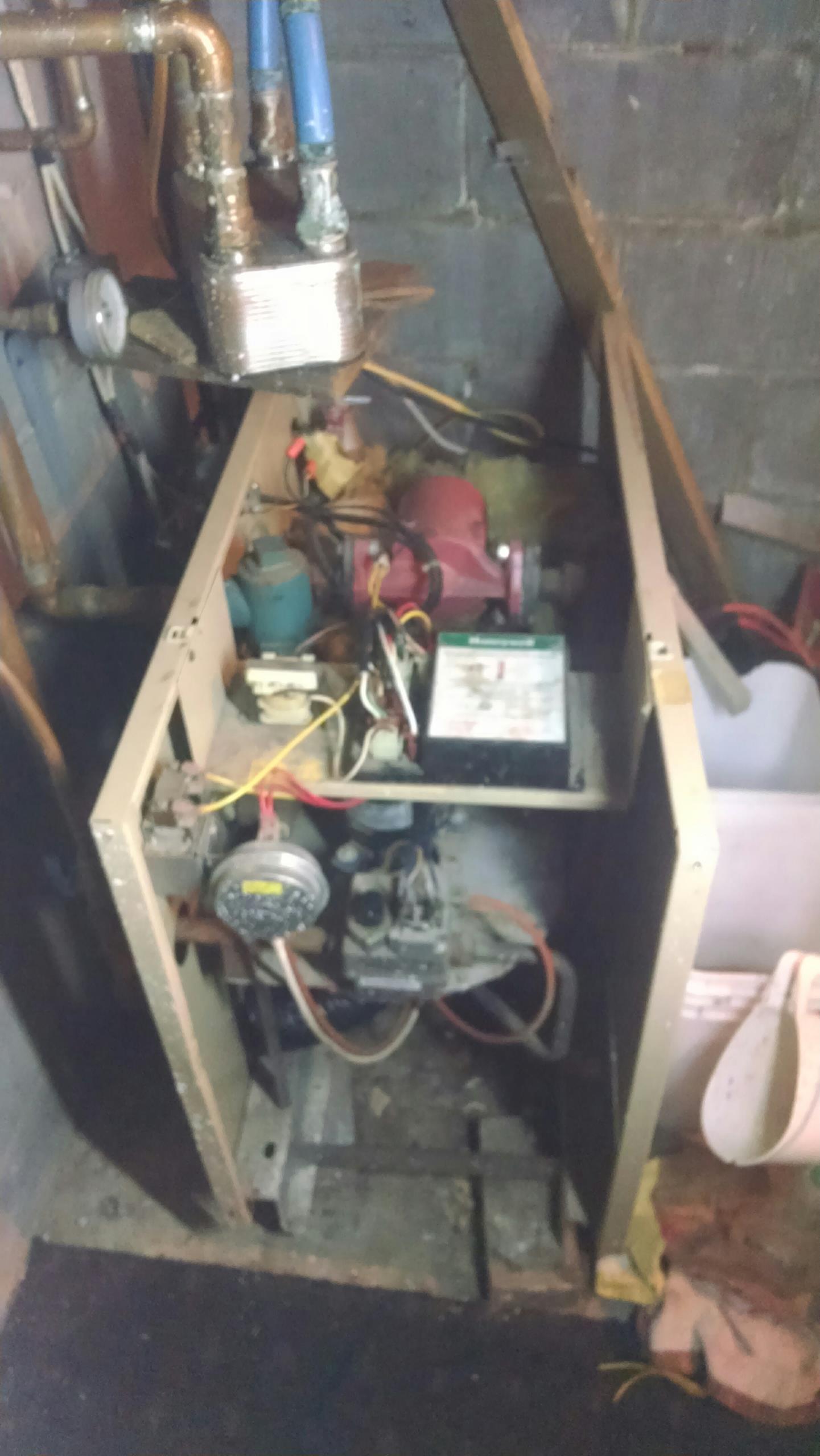 Mondovi, WI - Boiler repair and cleaning.