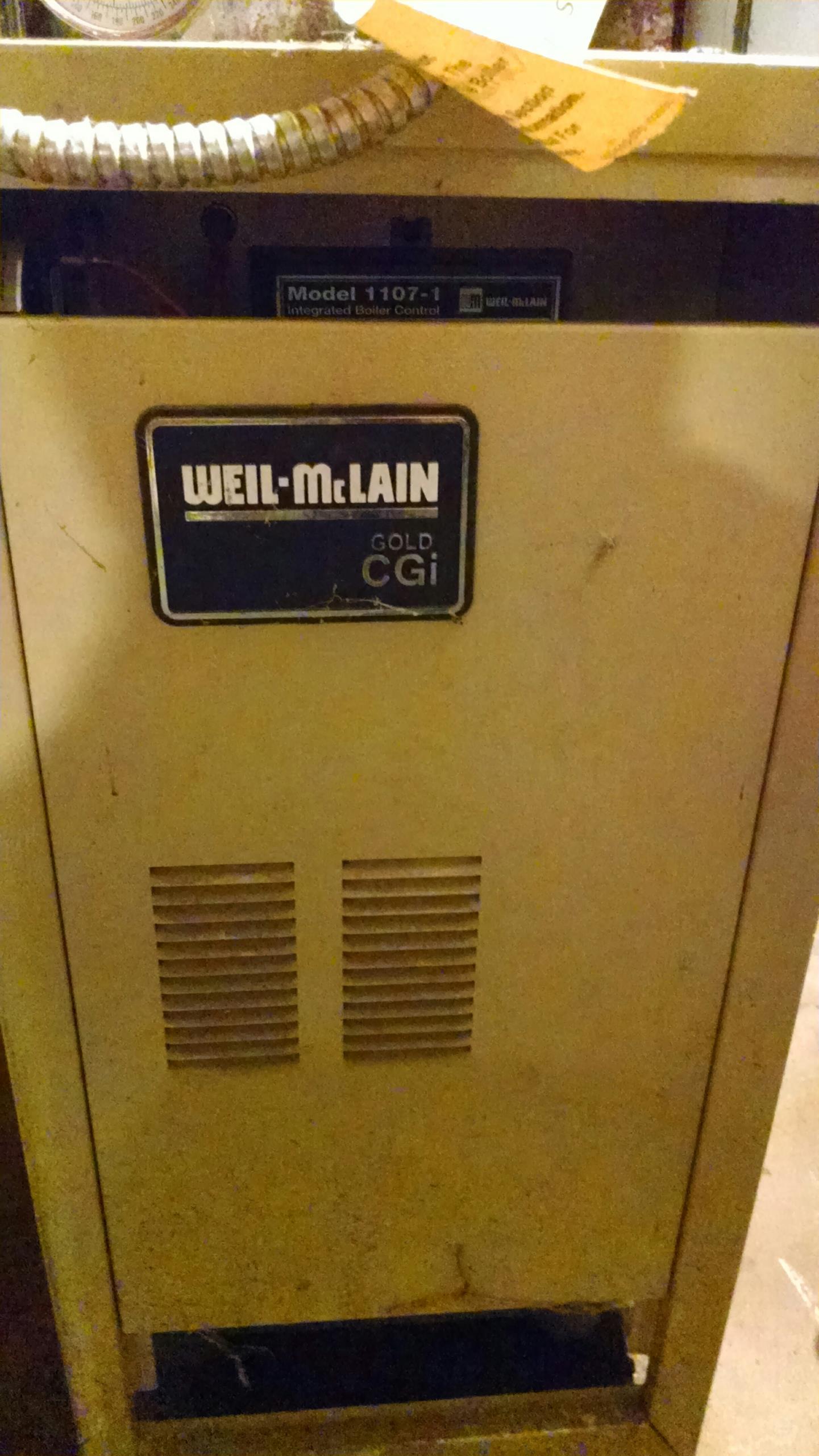 Arkansaw, WI - Repair Weil McLain boiler.