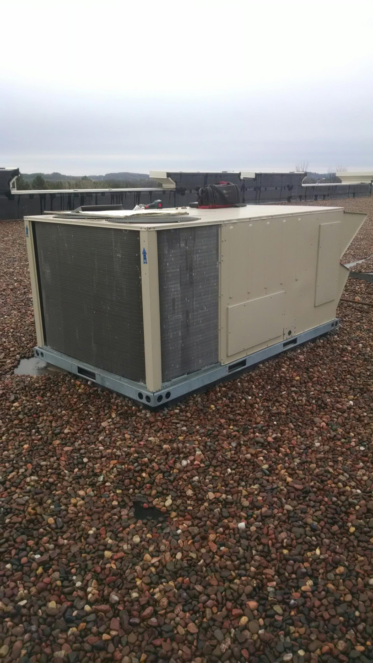 Eau Claire, WI - Repaired roof top unit