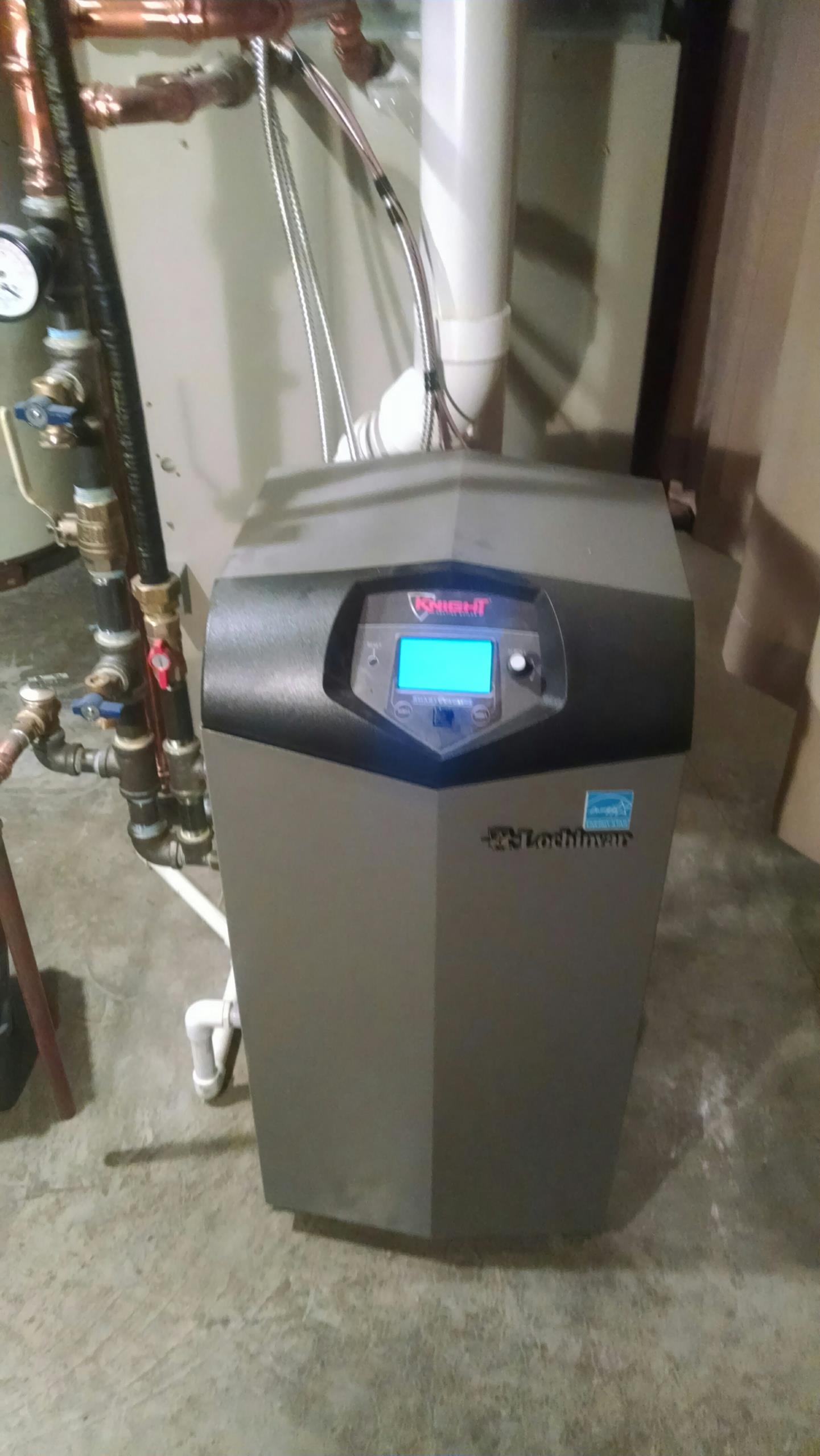 Elk Mound, WI - Boiler Repair, complete service and tune up. Knight Boiler