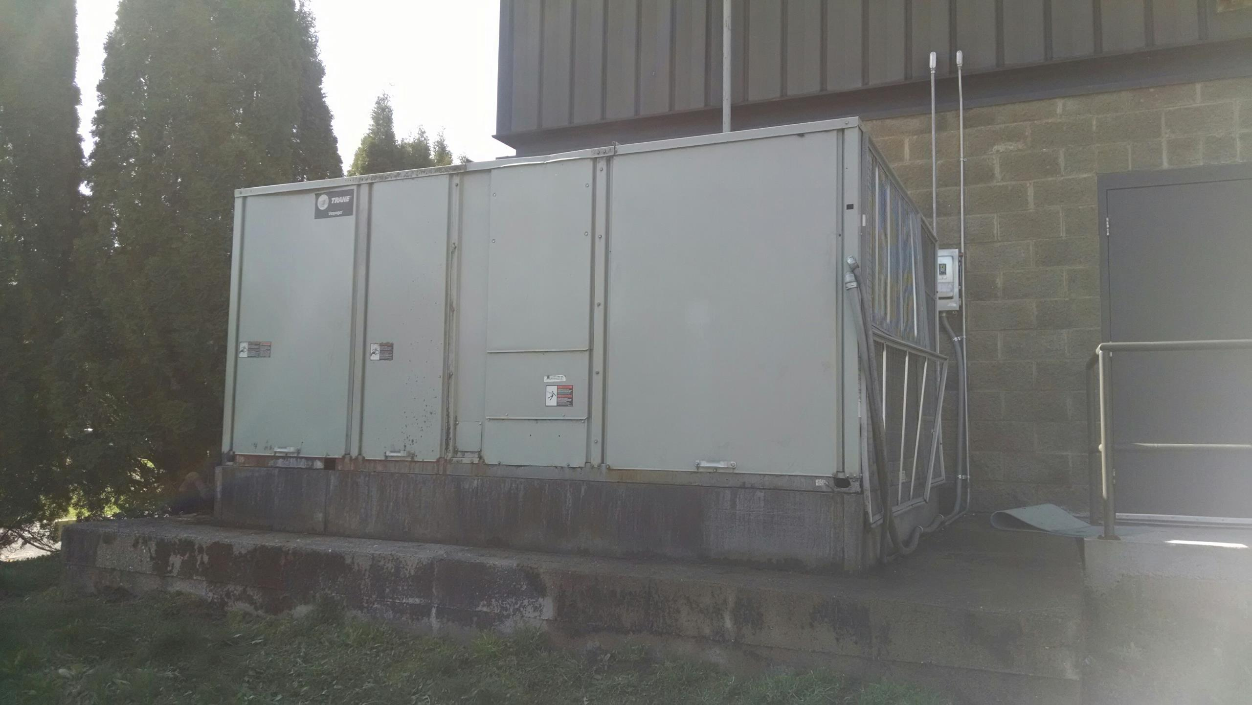 Elmwood, WI - Just repaired rooftop unit