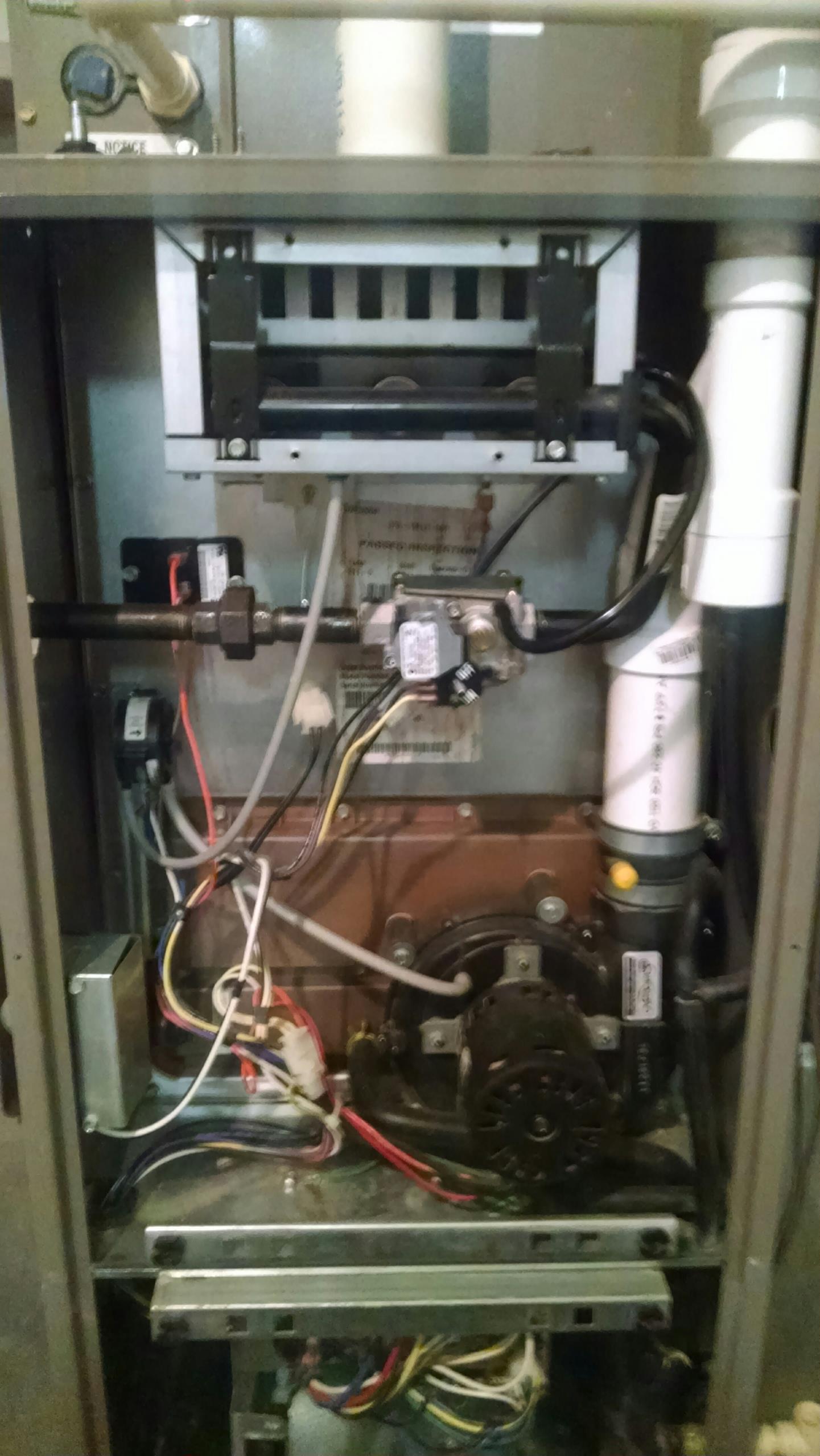 Menomonie, WI - Checking a York furnace
