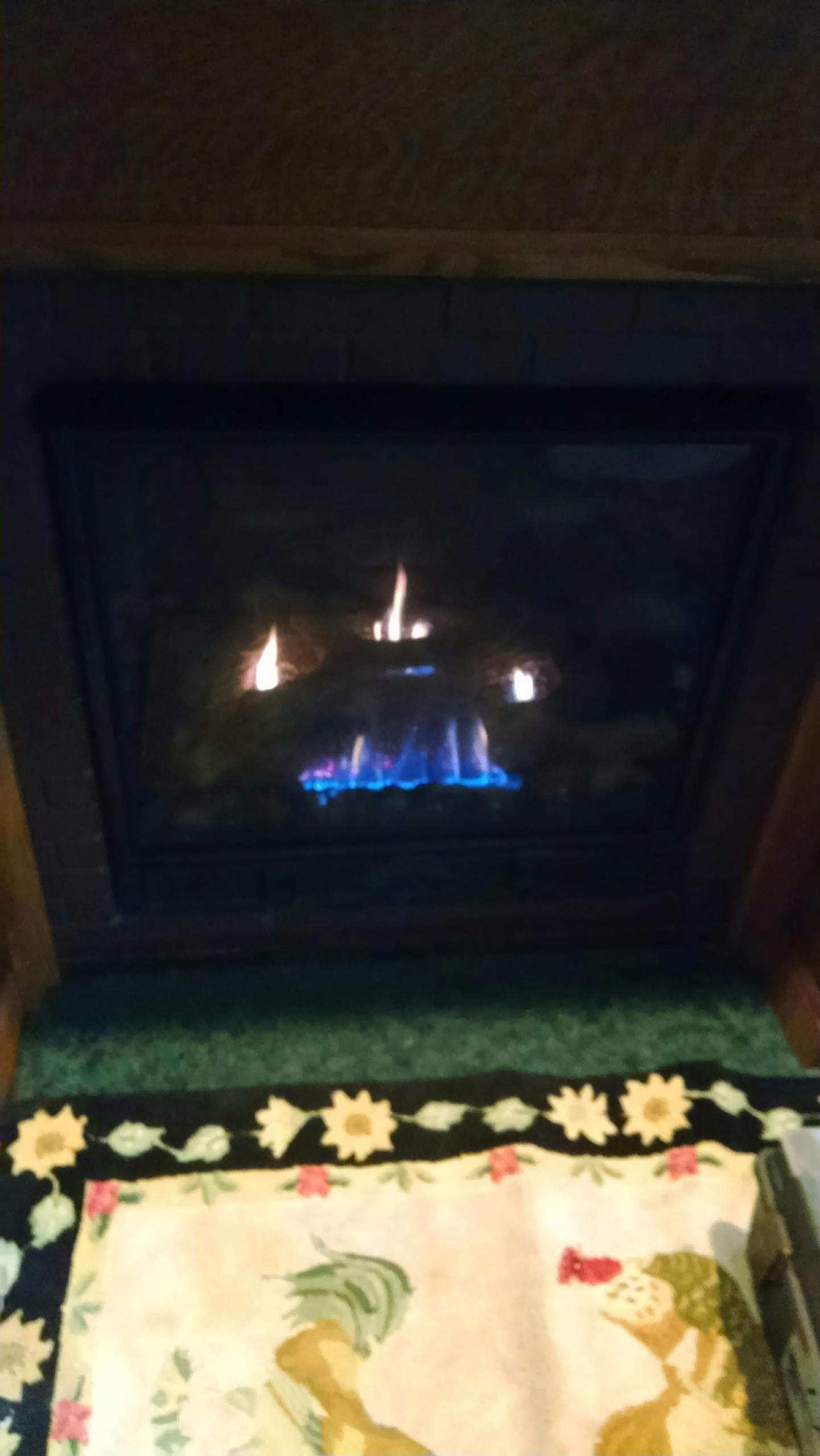 Pepin, WI - Repaired gas fireplace