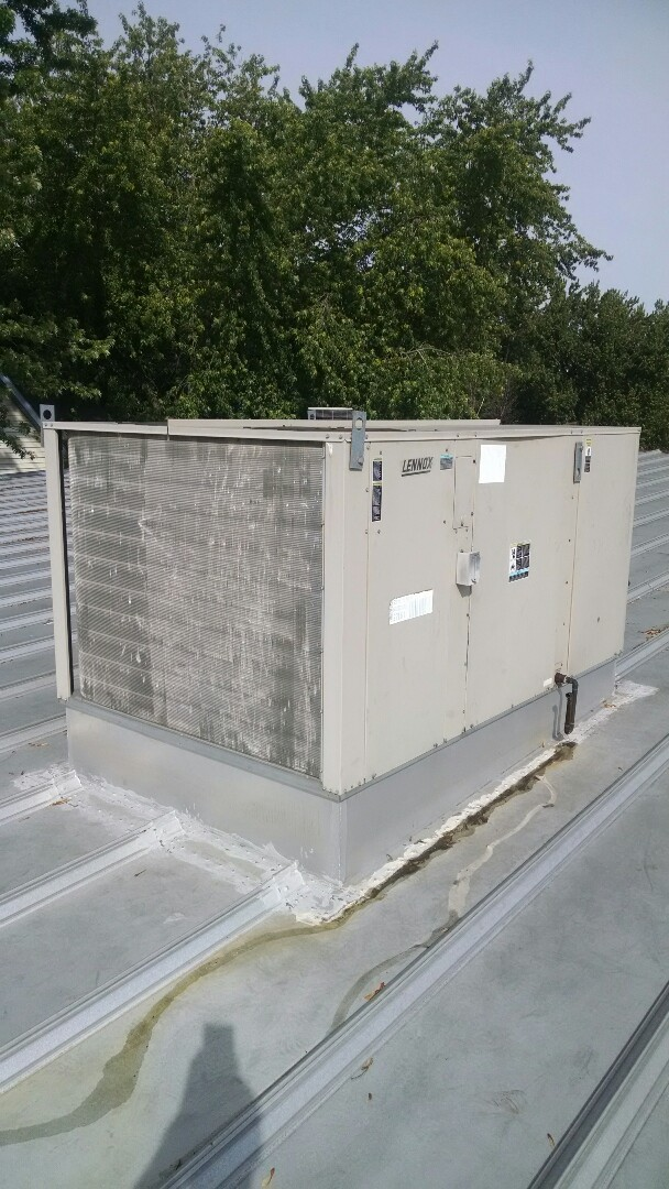 Durand, WI - Just repaired rooftop unit