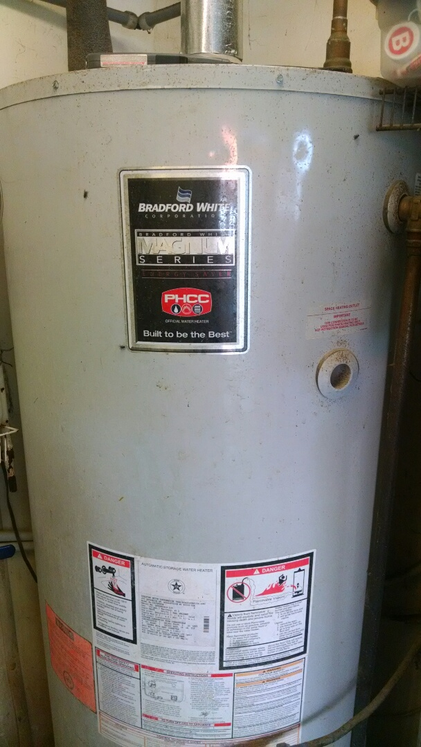 Elmwood, WI - Just repair gas water heater