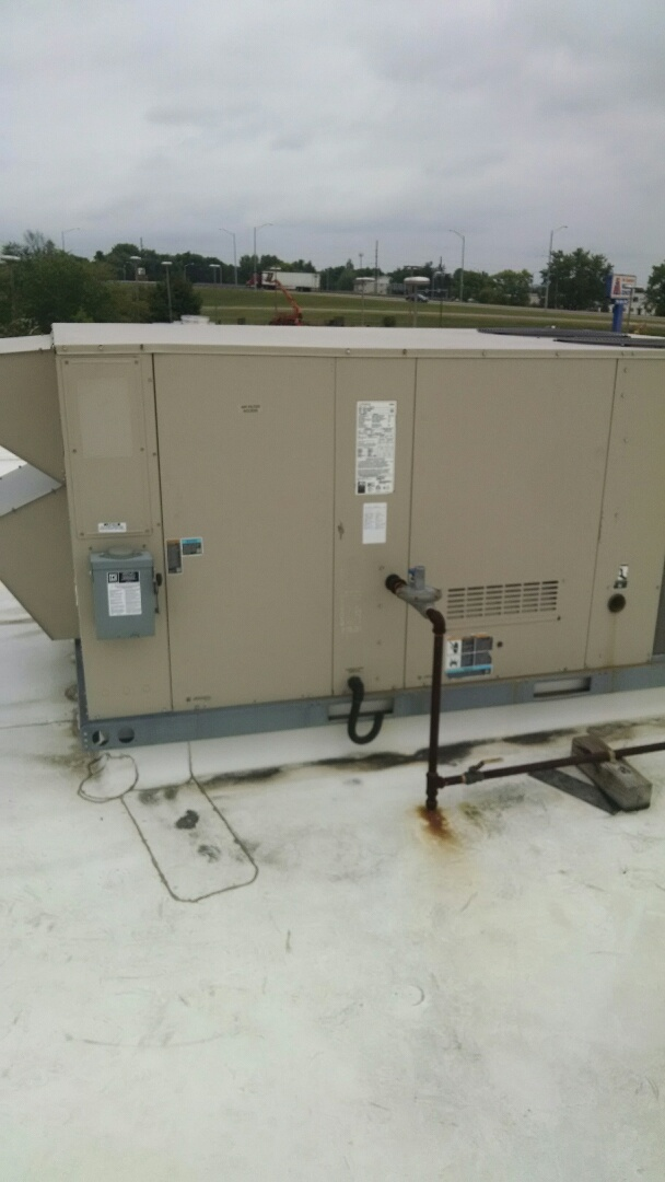Eau Claire, WI - Just repaired rooftop unit