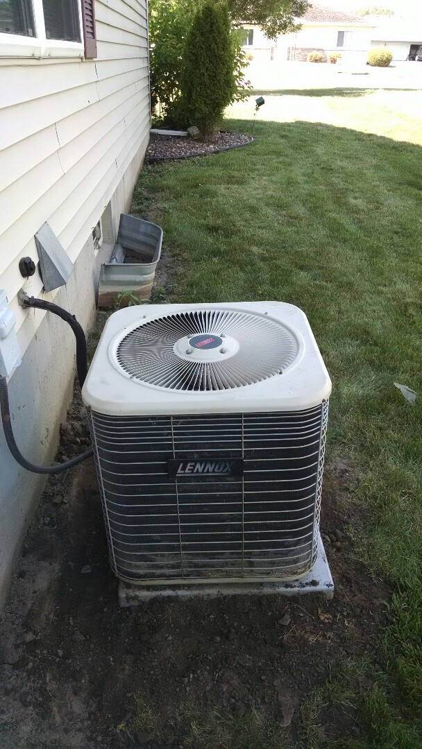 Eau Claire, WI - Repaired AC