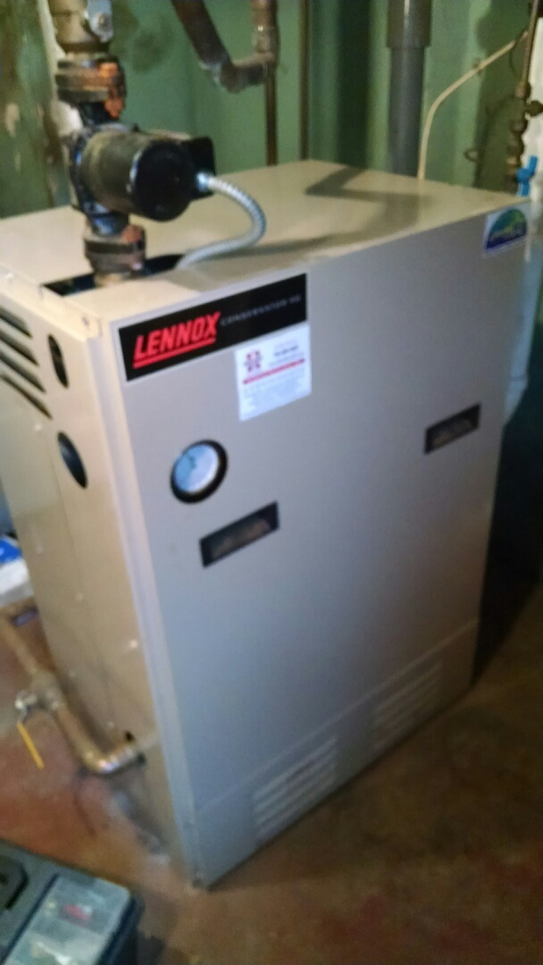 Pepin, WI - Repaired gas boiler
