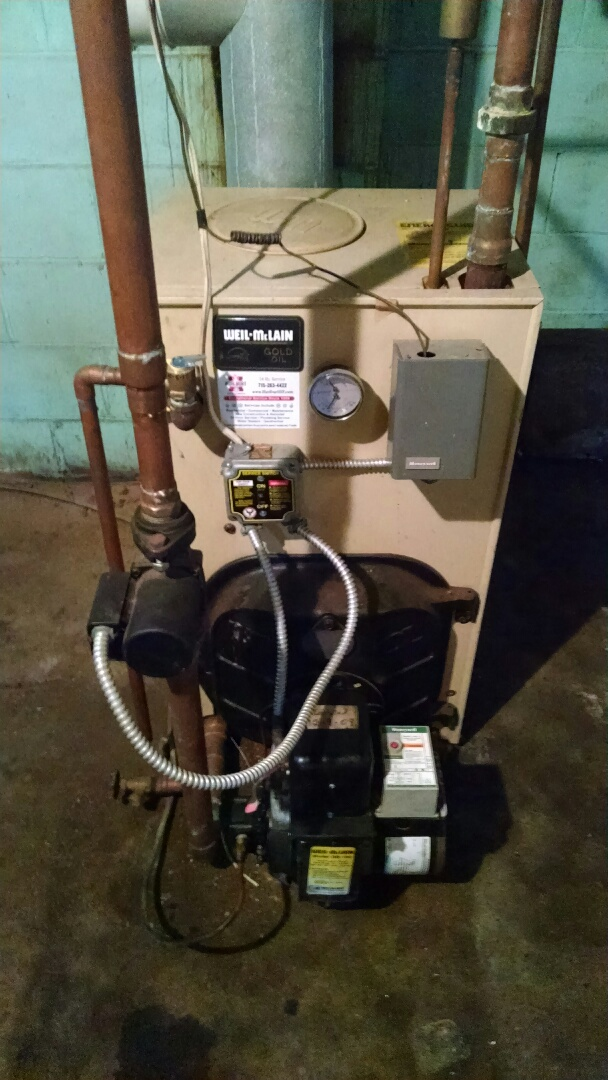 Nelson, WI - Repaired oil boiler