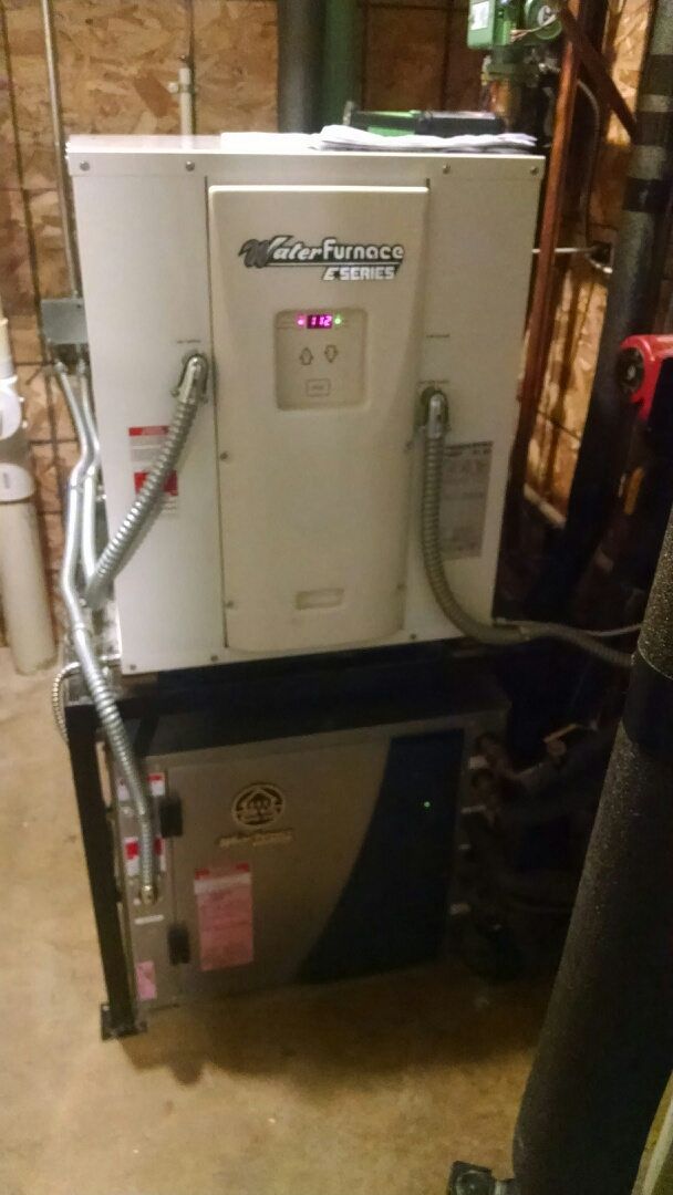 Menomonie, WI - Servicing geothermal units