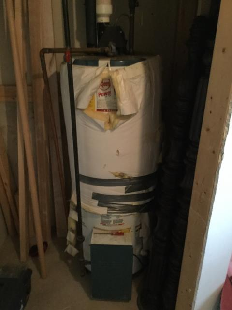 Eau Claire, WI - Replace pressure switch in their gas water heater.
