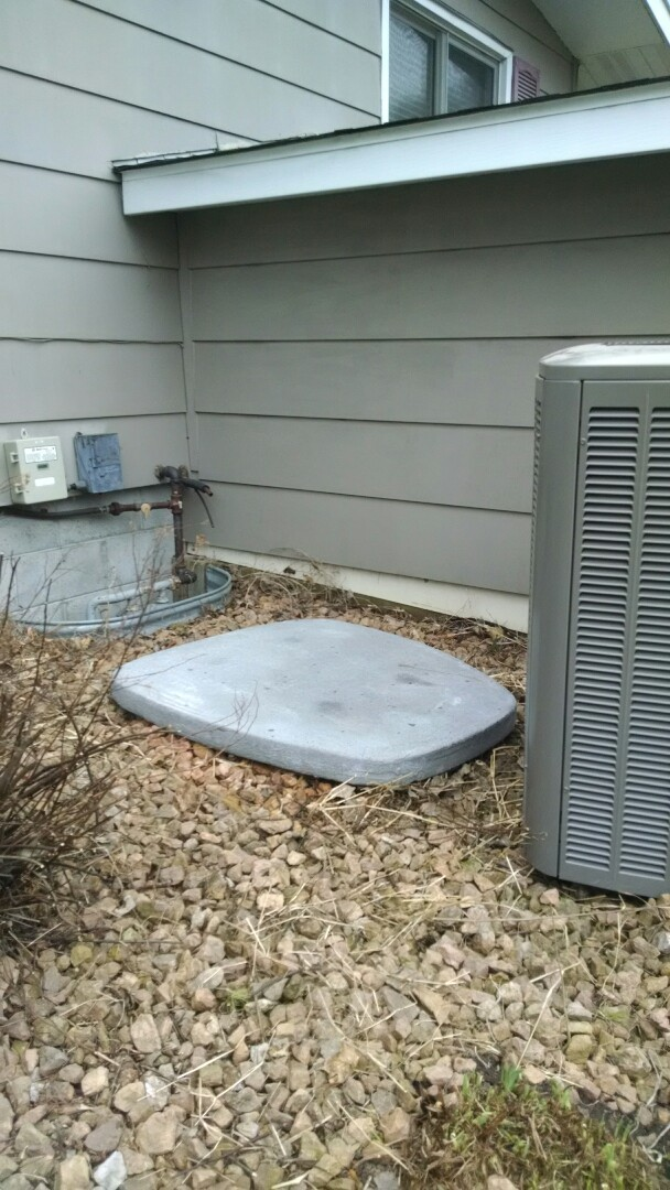 Plum City, WI - Install a new Lennox air conditioner in Plum City Wisconsin. These newer unit are just much quieter.