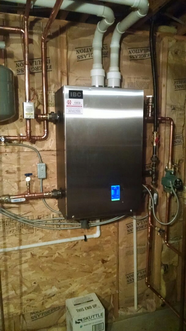 Maiden Rock, WI - New boiler installed