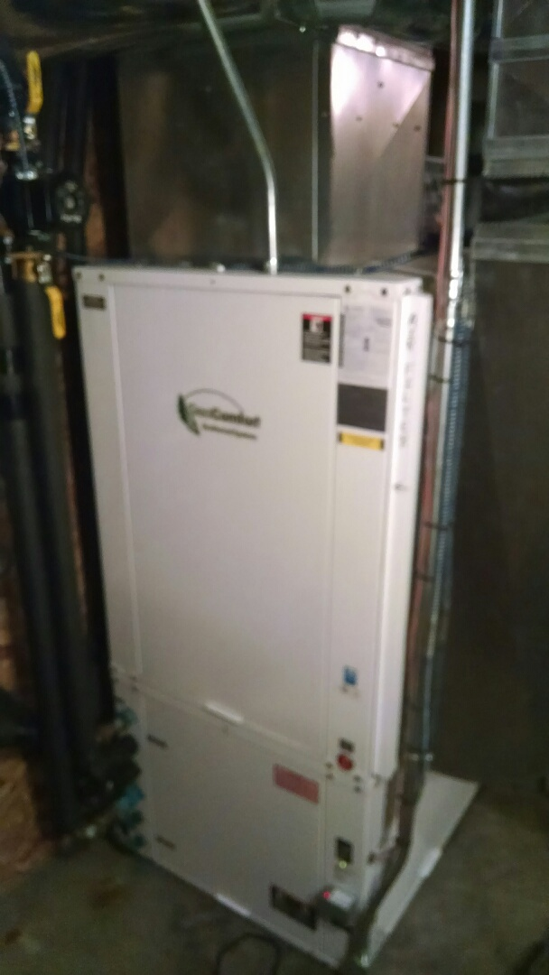 Mondovi, WI - Serviced geothermal system.