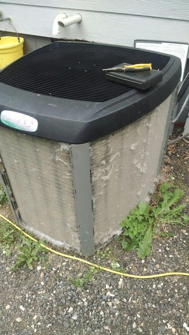 Menomonie, WI - Remember to get AC cleaned