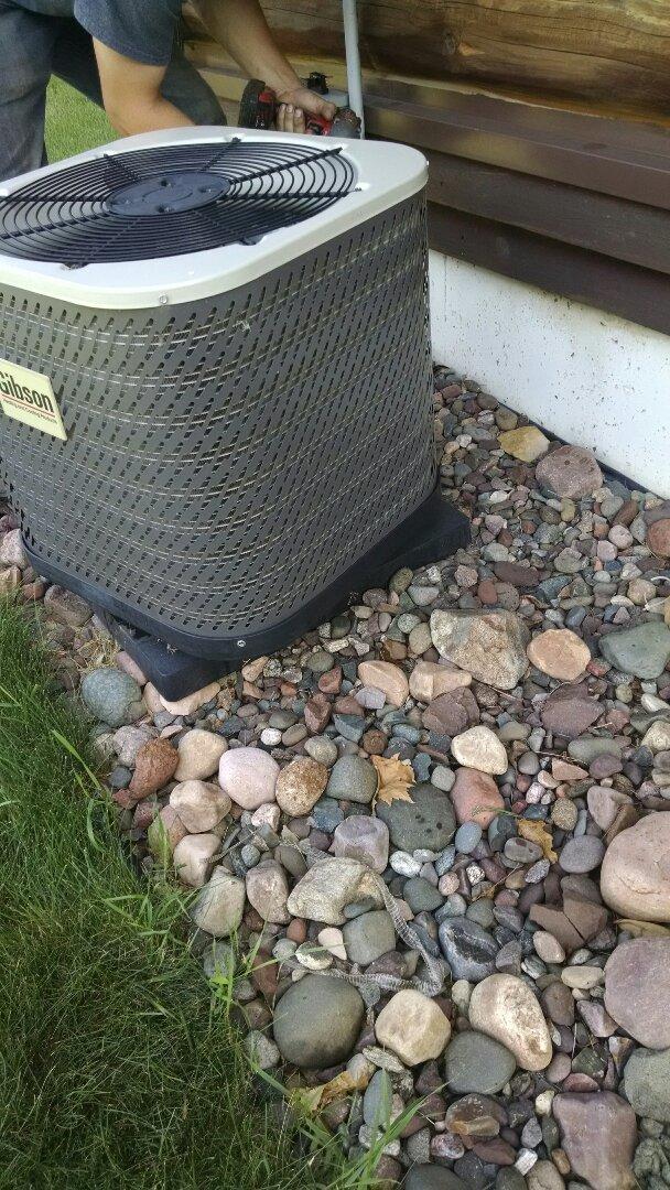 Chippewa Falls, WI - Install new HVAC system