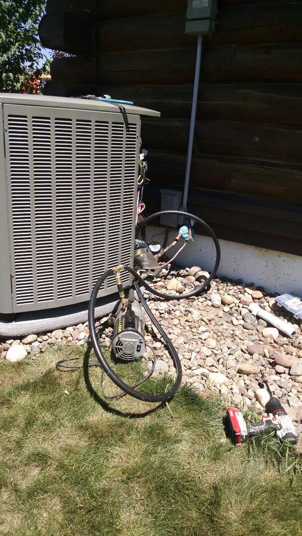 Chippewa Falls, WI - Install air conditioner