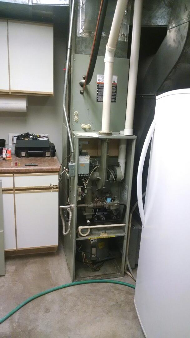 Menomonie, WI - Install new furnace
