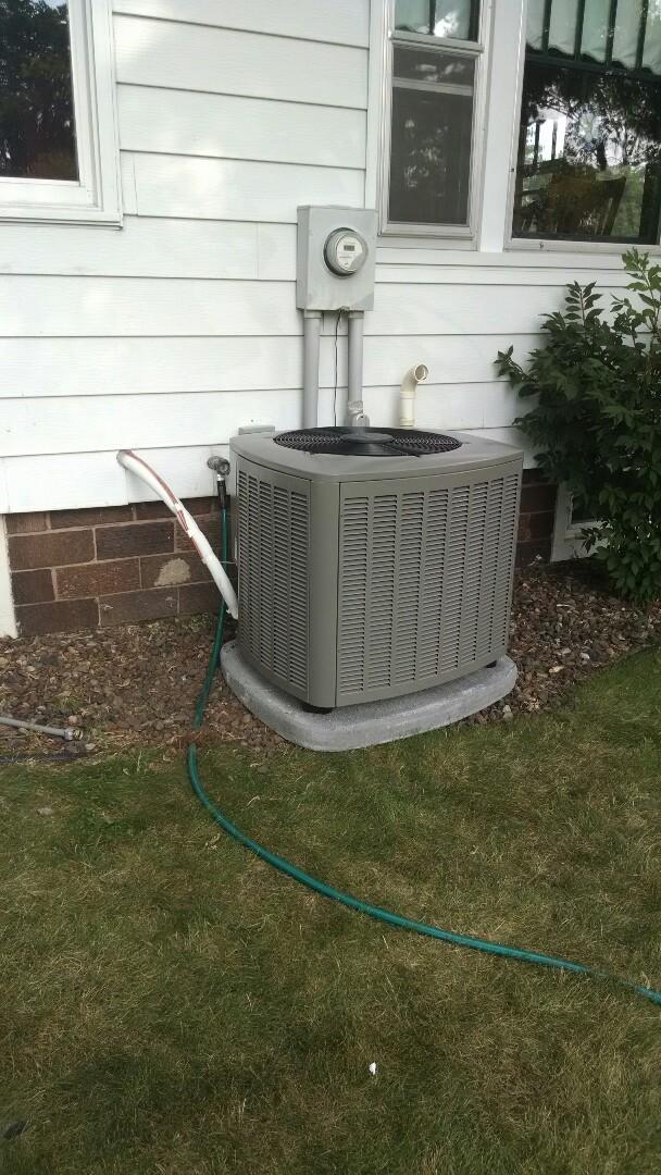 Chippewa Falls, WI - Install new HVAC system north of Menomonee