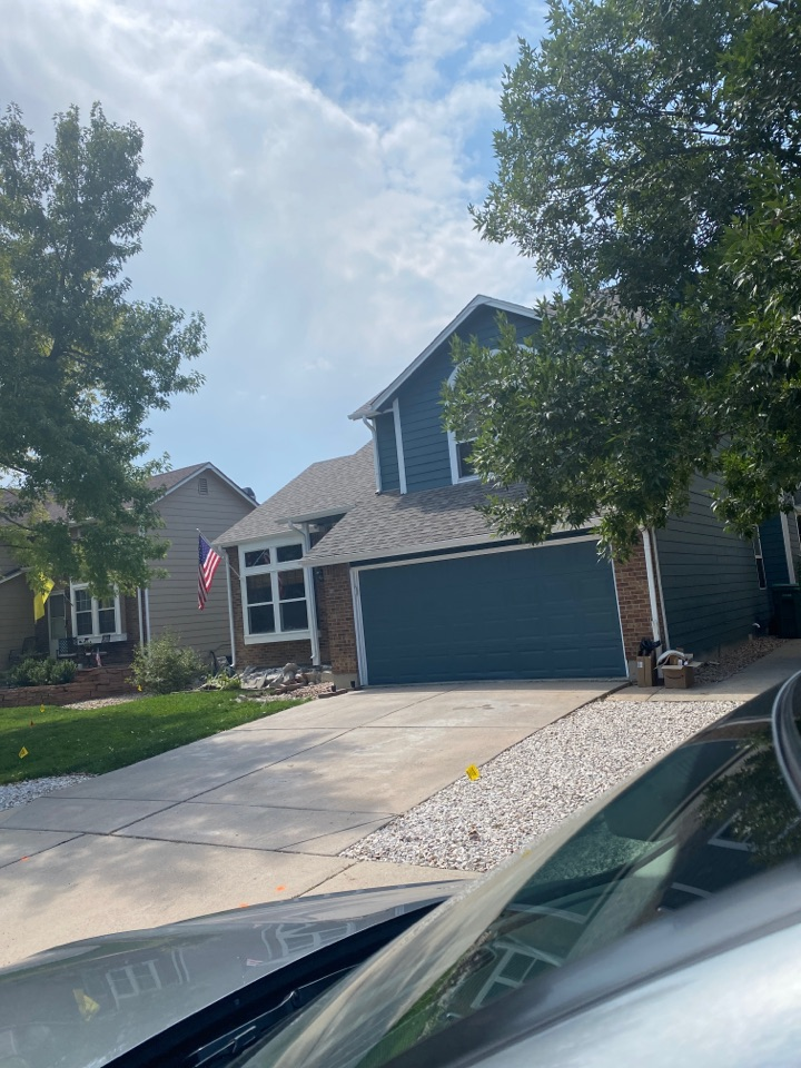 Westminster, CO - Roof replacement and gutter damage