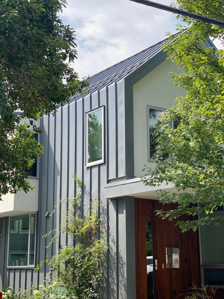 Boulder, CO - New metal residential roof and metal siding