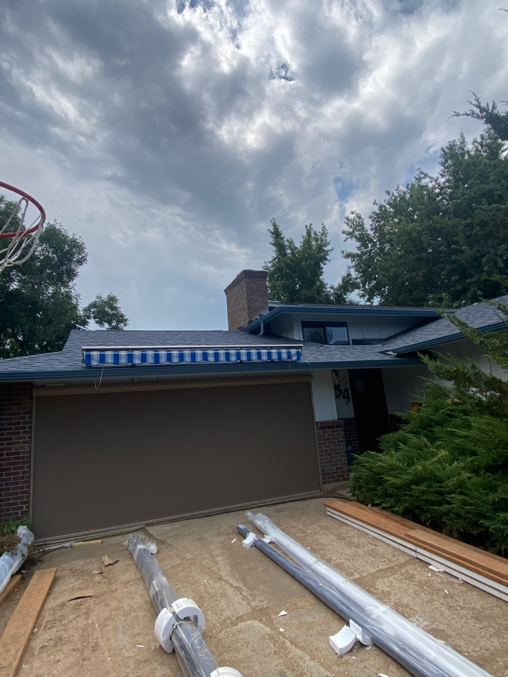 Boulder, CO - Just completed this new residential roof replacement with ice & water underlayment on the entire roof